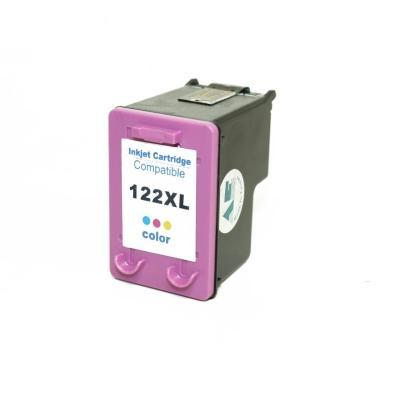 HP - Ideal Distribuidora - Cartucho HP 122xl Colorido 12ml Compatível