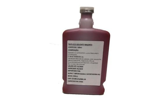 Tinta   - Ideal Distribuidora - Tinta Eco-Solvente Magenta 500ML Original EX